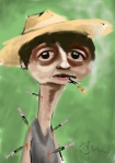 pete doherty caricature